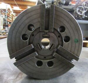 Howa 12 3 Jaw Power Chuck From Mori Lathe Sl 4 A2 8 Mount 0258 Hoia 12 A8
