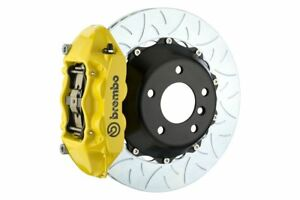 Brembo Gt Brake Kit Rear 345mm Slotted Type 3 Yellow 981 1 Boxster Spyder 16