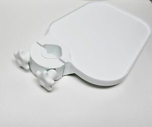 Tpc Us100 Post Mounted Utility Pole Post Tray Shelf Table Dental Medical White