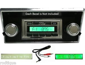1968 1972 Ford Truck Radio W Free Aux Cable 230 Stereo