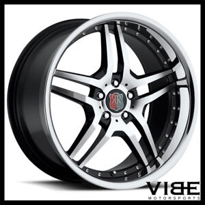 19 Roderick Rw2 Machined Wheels Rims Fits Ford Mustang Gt