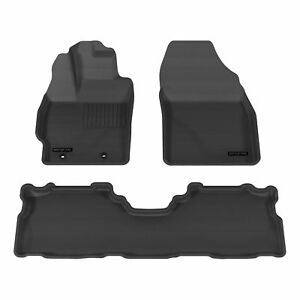 Aries 2993309 Black 1st 2nd Row Floor Mat Liner For 2012 2016 Toyota Prius V