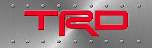 Trd License Plate Sign 4x13 5 Inches Jdm Racing