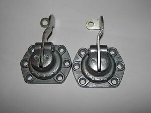 Porsche 912 Solex 40 Pii 4 Complete Pump Covers Single Shaft