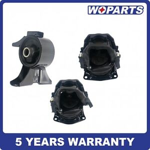 Front Rear Engine Motor Mount Set Fit For Honda Odyssey Touring Ex l 3 5l Right