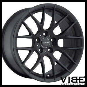 18 Avant Garde M359 Black Concave Wheels Rims Fits Bmw E92 E93 M3 Coupe