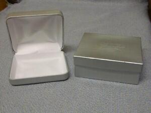 Jcpenney Silver Necklace Box W o Necklace Cushion Gift Box