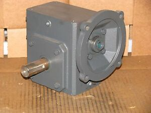 New Sterling Electric 206bq050562 Worm Speed Reducer Ratio 50 1