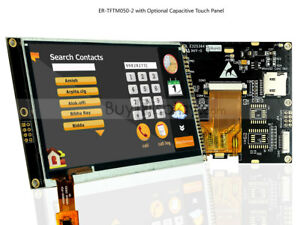 Serial spi 5 5 0 Inch Tft Lcd Module Display W capacitive Touch Panel tutorial