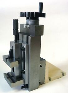 Precision Lathe Milling Attachment Vertical Slide 2 Quick Vise Mount New