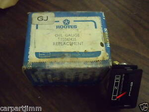 Sunbeam Rootes Oil Gauge New Old Stock 75061425