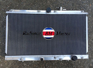 Aluminum Radiator For 1997 2001 Honda Prelude Accord Acura Cl 2 2l L4 Manual