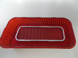 69 Chevrolet Impala Stop And Tail Lamp Lens Rh Replaces Gm 5961184 Us Made