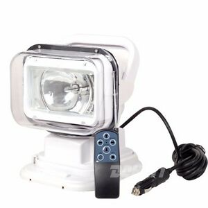 35w Xenon Hid Search Work Light Remote Rotating Handhold Magnetic Boat 24v White
