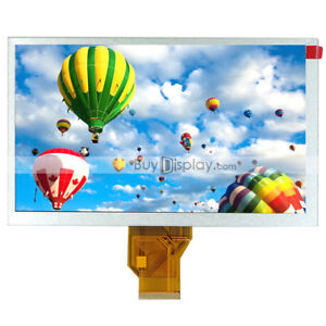 9 Inch Tft Lcd Display Module 800x480 At090tn10 At090tn12 W optional Touch Panel