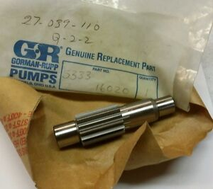Gorman rupp Model 3d b Pump Pinion Astl 5333 16020 New