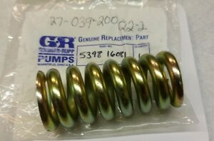 Gorman rupp Model 3d b Pump Spring 5398 16081 New