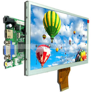 Tft Lcd 9 Inch Raspberry Pi Screen W hdmi video vga Driver Board optional Touch