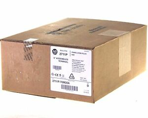 New Sealed Allen Bradley 2711p t6m20a Panelview Plus 600 Ethernet rs 232