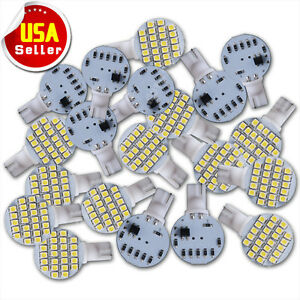 20x T10 921 194 Super White Rv Trailer Landscaping 24smd Interior Led Light Bulb