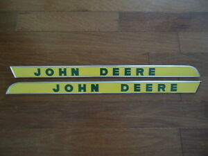 New Side Molding Mouldings Raised Letters Fits John Deere 2010 3010 3020 4020