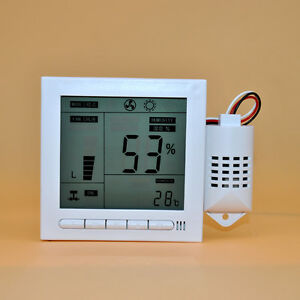 110 240v Z16b8 Intelligent Digital Humidity Temperature Control Controller Zebra