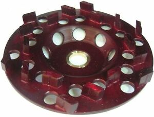 6 Diamond Cup Wheel For Coating Removal 5 8 7 8 Arbor