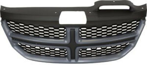 Cpp Black Grill Assembly For 2011 2017 Dodge Journey Grille