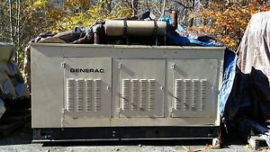 100 Kw Generac Natural Gas Outdoor Generator Low Hours