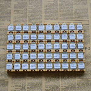 50 Value 1206 Smd Assorted Resistor Kit In Box 0r 10mr 5000pcs 0 25w 1 rohs