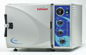 Tuttnauer 2340m Manual Autoclave Sterilizer Medical Dental Health 9 Chamber Fda