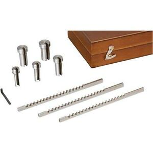 G9771 Grizzly Keyway Broach Sets 9 Pc Hss