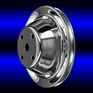 Water Pump Pulley For Chevy Small Block 283 327 350 383 400 With Short Pump