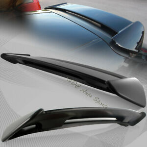 For 1996 2000 Honda Civic Hatchback Black Abs Type r Style Rear Spoiler Wing