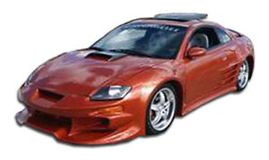 00 05 Mitsubishi Eclipse Duraflex Vader Front Bumper 1pc Body Kit 102328