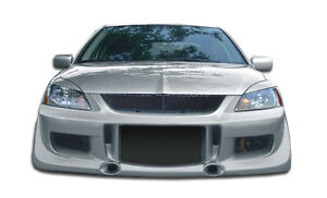 04 07 Mitsubishi Lancer Duraflex G Speed Front Bumper 1pc Body Kit 103976