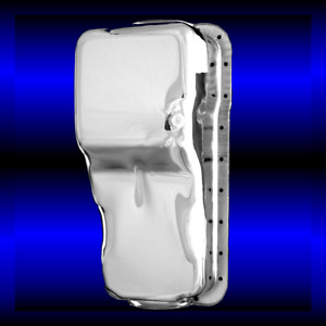 Chrome Small Block Ford Engine Oil Pan Fits Ford 260 289 302 Engines