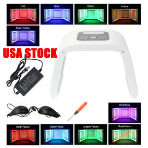 4 Colors Pdt Photon Led Phototherapy Facial Skin Care Acne Removal Lamp Spa