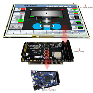 10 1 Inch 1024x600 Tft Lcd Display Shield For Arduino Due With Library Examples