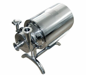Stainless Steel Sanitary Pump Sanitary Beverage Milk Delivery Pump 110 V