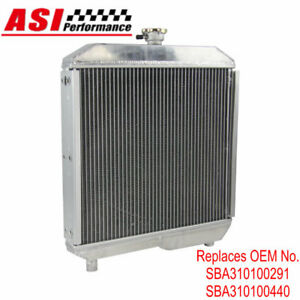 Sba310100291 Sba310100440 Tractor Radiator For Ford Holland 1510 1710