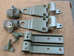 Jeep Willys Top Bow Bracket Kit Mb 41 45 Military Jeep G503