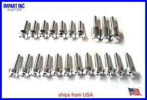 Bmw Valve Cover Bolt Set Kit Aluminum 2006 2007 N52 11 12 0 409 288