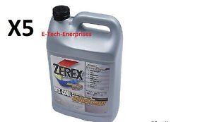 5 Gl Engine Coolant Antifreeze Zxel1 Zerex Dex cool Fits Land Rover Lr2 Lr3 Lr4