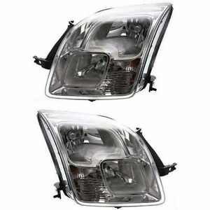 Headlights Headlamps Pair For Ford Fusion 06 09 Left Driver Right Passenger