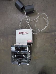 Manix Mini Pneumatic Powered Indexing Conveyor