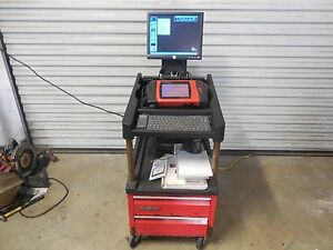 Snap On Modis 11 2 Modular Diagnostic Information System Work Station