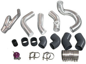 Intercooler Piping Kit For 98 05 Lexus Is300 2jz gte Swap Factory Twin Turbo blk