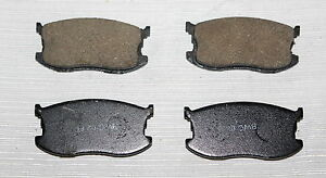 Fits 85 89 Chevrolet Spectrum Geo Spectrum Isuzu Imark Brake Pad Set 0821273 New