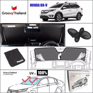 1 Pc Front Windshield Foldable Curtain Car Sun Shade Fit Honda Brv